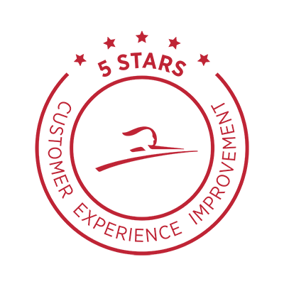 5 Stars - Customer Experience Improvement