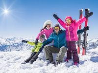 MMV your accommodation for your ski holiday