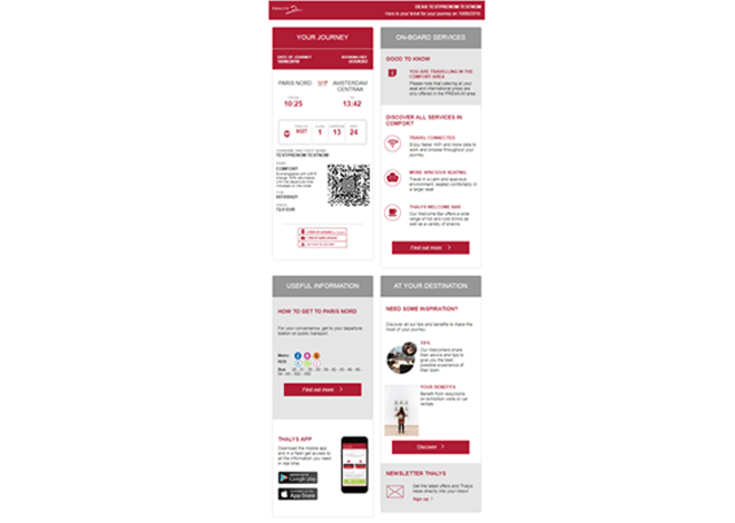 Billet Ticketless Thalys