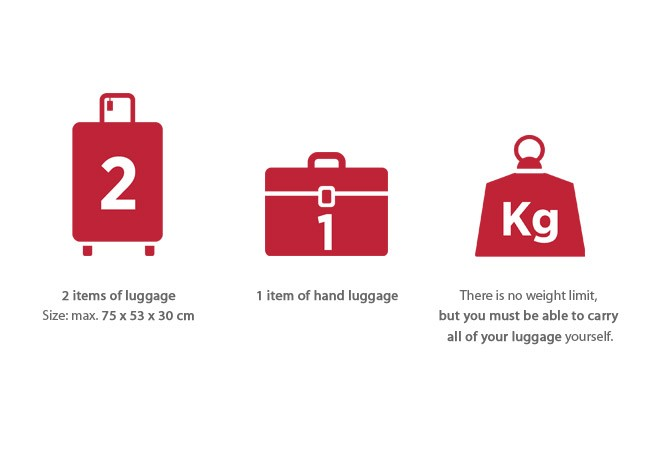 Travelling with luggage | Thalys