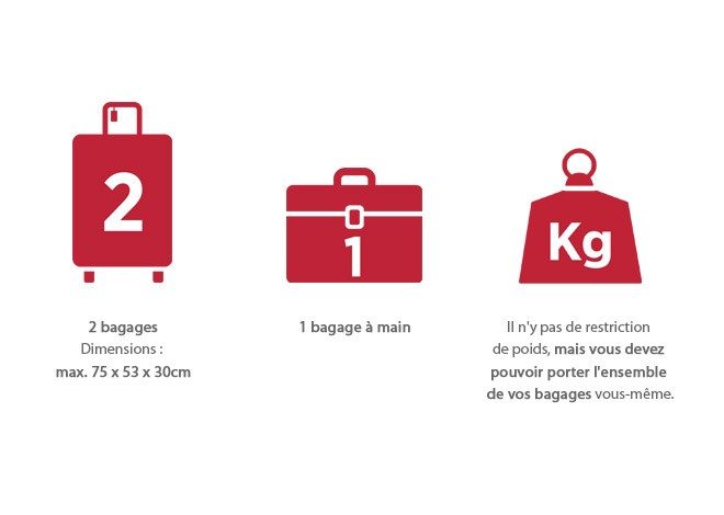 Bagages standard
