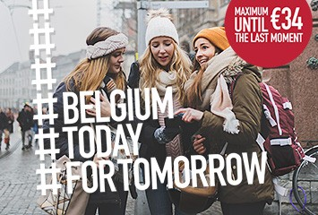 Belgium €34 today for tomorrow