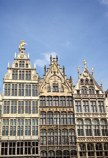 The Grand Place in Antwerp