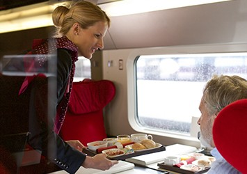 Service on a Thalys train