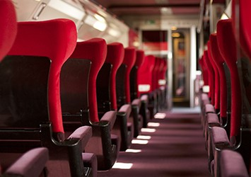 Thalys train corridor